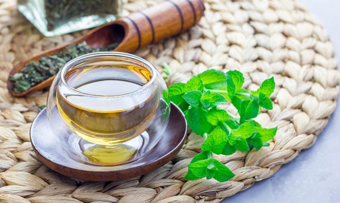 اضرار الشاي بالنعناع