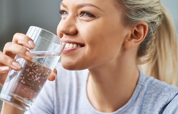 شرب ماء