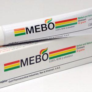 ميبو لعلاج حالات الحروق